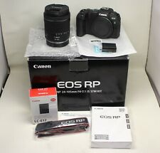 Canon EOS RP Mirrorless Digital Camera with 24-105mm f/4-7.1 IS STM Lens Kit