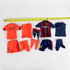 A89-18 1/6 Scale FCBarcelona Neymar Jr Home Kit + Away Kit + Underwear
