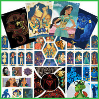 TOPPS DISNEY COLLECT - Aladdin Illustrated Characters & Legends Agrabah w/awards