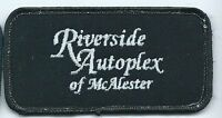 Riverside Autoplex of McAlester  patch 2X4  Muskogee OK #905