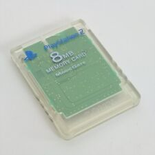 PS2 Memory Card Crystal SCPH-10020 8MB Playstation 2 Official Made in CHINA 1208