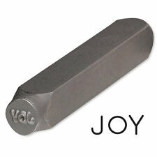 Steel Stamp Punch for Beading & Jewelry Making (Joy)