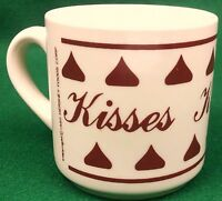 Hersheys Kisses Coffee Mug 10 oz Tea Hot Chocolate Cocoa 1980 Vintage Valentines
