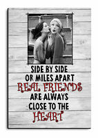 Personalised Friends, Friendship, Photo,Best Friends gift, Wooden Sign