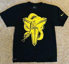 Nike DRI-FIT Black Mamba Snake Kobe Bryant T-Shirt Size Small