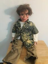 Semi Pro Ventriloquist Dunmy Upgraded Eyes Mouth Vintage