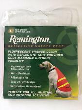 Remington Dog Safety Vest Size L 50# NWT Hunting Reflective Orange Pets