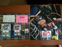 NHLPA Hockey '93 (Sega Genesis, 1992) - Complete! CIB!