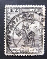 Iraq-1923-4A Violet-Used