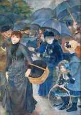Pierre Auguste Renoir The Umbrellas Fine Art Painting Poster (31X43..5 CM)