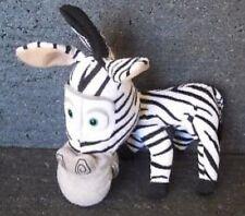 Peluche zebra madagascar 20 cm originale dreamworks big headz plush soft toys