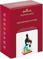 2020 Hallmark Ornament Mischievous Kittens 22nd in Series Keepsake Ornament
