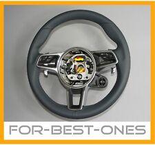 NEU Porsche 718 911 991 971 GT3RS Turbo Leder Lenkrad graphitblau steering wheel
