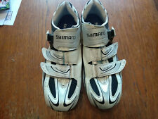 Shimano R087 Cycling shoes size 48 really uk 11 white used
