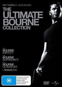 The Bourne Identity / The Bourne Supremacy / The Bourne Ultimatum (DVD, 2008,...