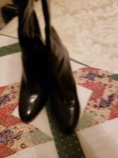 Women's Used Nine West Knee High High Heeled Boots Size 10.5 M HotDuo Model