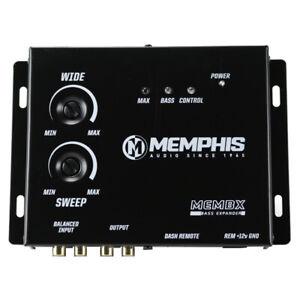 Memphis Audio MEMBX Digital Bass Expander / Restoration w/ Remote Bass Knob NEW