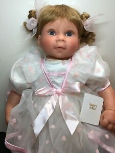"22"" Lee Middleton Limited Dolls Reva Schick ""Young At Heart"" Pigtails W/ Box COA"