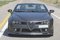 Alfa Romeo Spider 2006> Spoiler anteriore sotto paraurti cadamuro design tuning