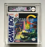 Operation C Nintendo Game Boy VGA 85 NM+ H-SEAM Factory Sealed Brand New Konami