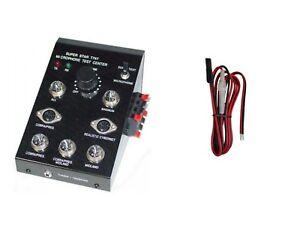 CB radio workman Super Star T747 microphone TEST CENTER TESTER w/ POWER CORD