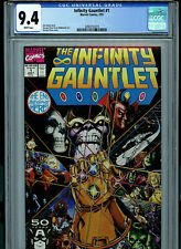 Infinity Gauntlet Issue # 1 CGC 9.4 NM Avengers 1991 Comic Marvel Thanos K6