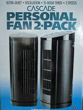 Cascade Personal Fan 2-Pack