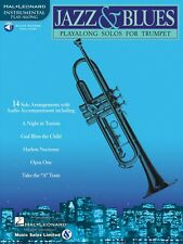 Jazz & Blues Play-Along Solos Instrumental Folio Book and Audio 000841441