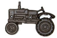 Cast Iron Tractor Beer Bottle Opener Wall Mounted or Hand Held Rustic Brand New