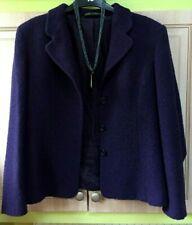 Marks & Spencer M&S St Michael 💖Size 12 Purple Very Elegant Jacket Blazer Wool.