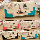 Pink Eiffel Tower Printed Women Lady Cute Long Purse Clutch Wallet Card New