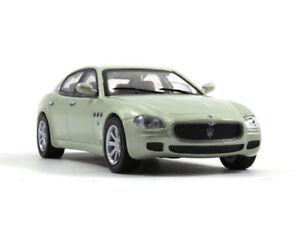 Maserati Quattroporte Gray Full-size Luxury Diecast Model Car 1:43 Scale (2009)