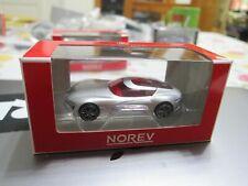 NOREV - Scale 1/64 - Renault TREZOR Concept - Silver - Mini Car - A1