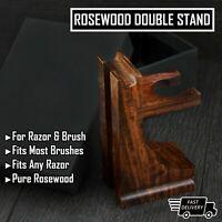 Vintage Stand for Safety Razor Straight Razor, Shaving Brush Professional