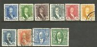 Kingdom Of Iraq King Faisal I Collection Used Stamps 1932