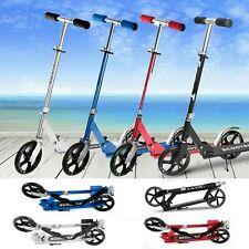 Pro Adult Kids Kick Scooter Adjustable Folding Lightweight Aluminum 200MM Wheels