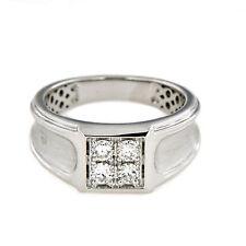 Diamond Sterling Silver Rings for Men
