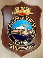 """Crest Commemorativo """" 2° NUCLEO AEREO GUARDIA COSTIERA - CATANIA"""" - (Rarità)"""