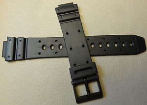 New Speidel 14mm Black Sport Watch Band for Digital Watches FITS POPULAR BRANDS