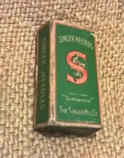 Antique Vintage Singer Industrial Sewing Machine Needles - 79 Needles In Box