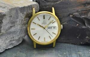 1973 Vintage Omega Automatic Men's Watch Ref 166.0117 Needs TLC .99C No Reserve