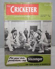 The Cricketer - 28th April 1956, Vol. XXXVII No.1 - A Peep Into History
