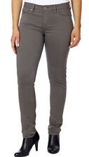 Calvin Klein Women's Sateen Mid-Rise Skinny Pants 42O6099 Various Colors