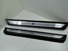 BMW 6 SERIES F12 CONVERTIBLE DOOR SILL ENTRANCE COVER SET 8050390 8050389 313