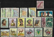 Lot de 22 timbres - ANGOLA - Oblitérés - (6)