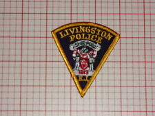 Livingston New Jersey Police CAP PATCH