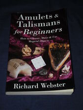 AMULETS & TALISMANS FOR BEGINNERS How to Choose Make Use Magical RICHARD WEBSTER