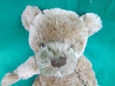 2008 BURBERRY FRAGRANCES PLUSH TEDDY BEAR SHAGGY STUFFED ANIMAL NO JACKET