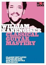 William Kanengiser Clasical Guitar Mastery DVD NEW 014017606