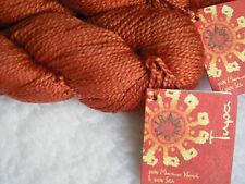 Mirasol Tupa Knitting Yarn, 50/50 Merino, Silk, 50g x 125m